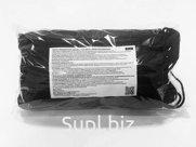 Маска защитная одноразовая черная 10, 50 шт в упаковке